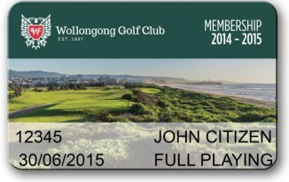 Wollongong Golf Club Membership Benefits